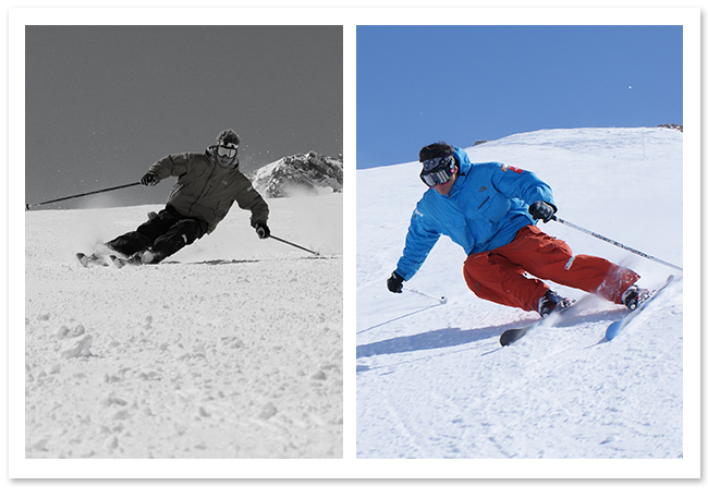 Carving ski lessons tignes ultimate snowsports