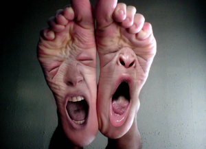 Screaming feet