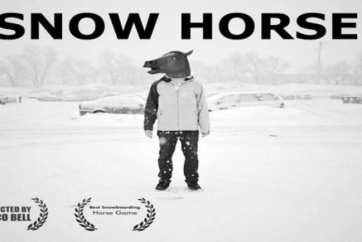 Snow horse – The snowboard game you never asked for